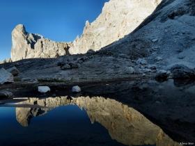 Cime su lago Pradidali