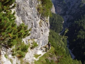 4 cengia sentiero re di sassonia