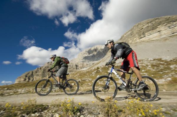 mountain bike dolomiti