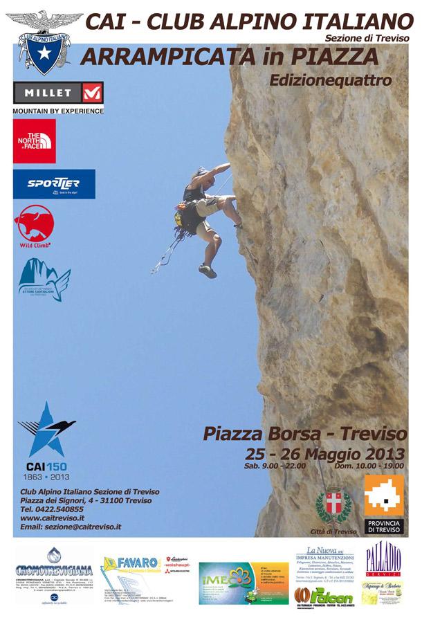 arrampicata in piazza 2013