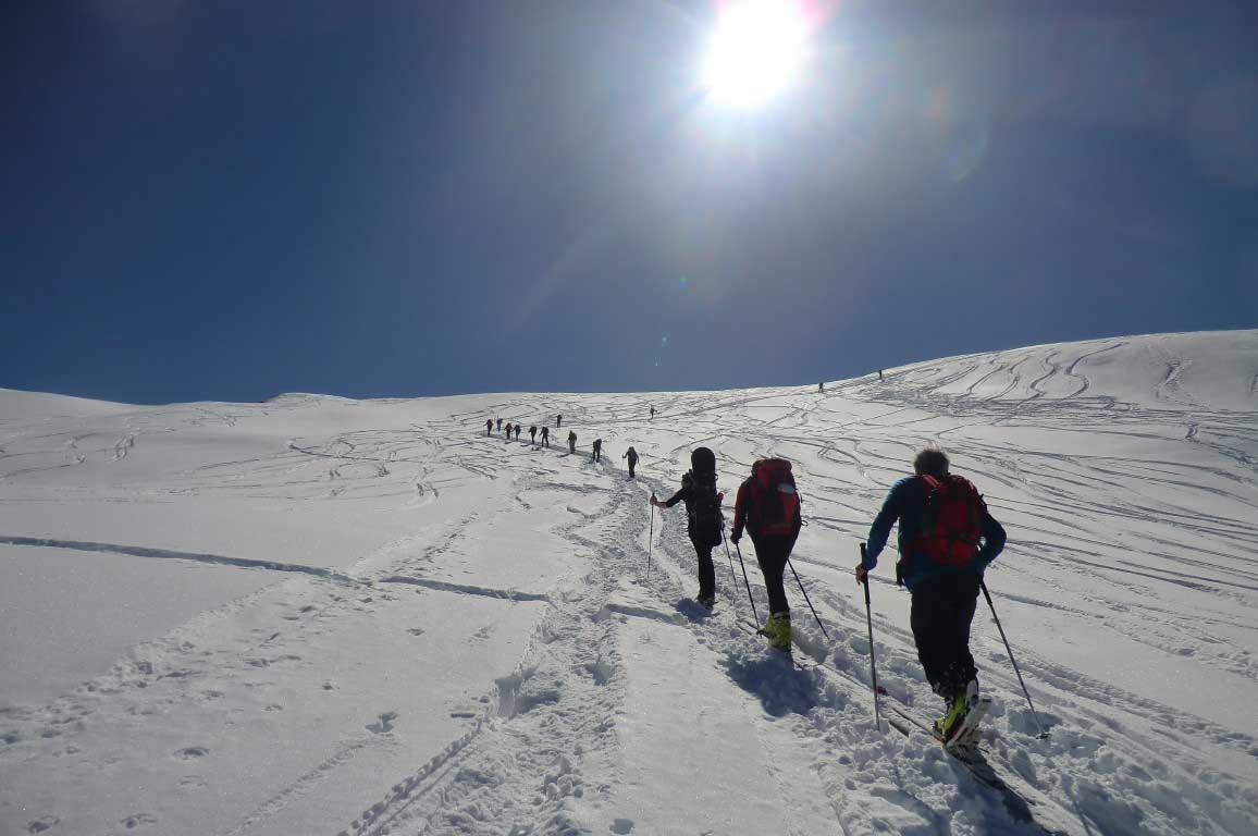 1° Corso di Sci escursionismo SE2-2018