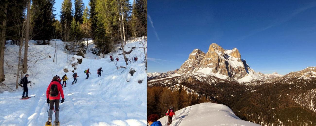 Escursione con Ciaspole: Val Zoldana – Monte Punta