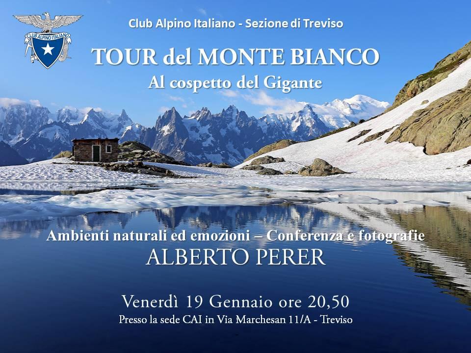 Alberto Perer: Tour del Monte Bianco