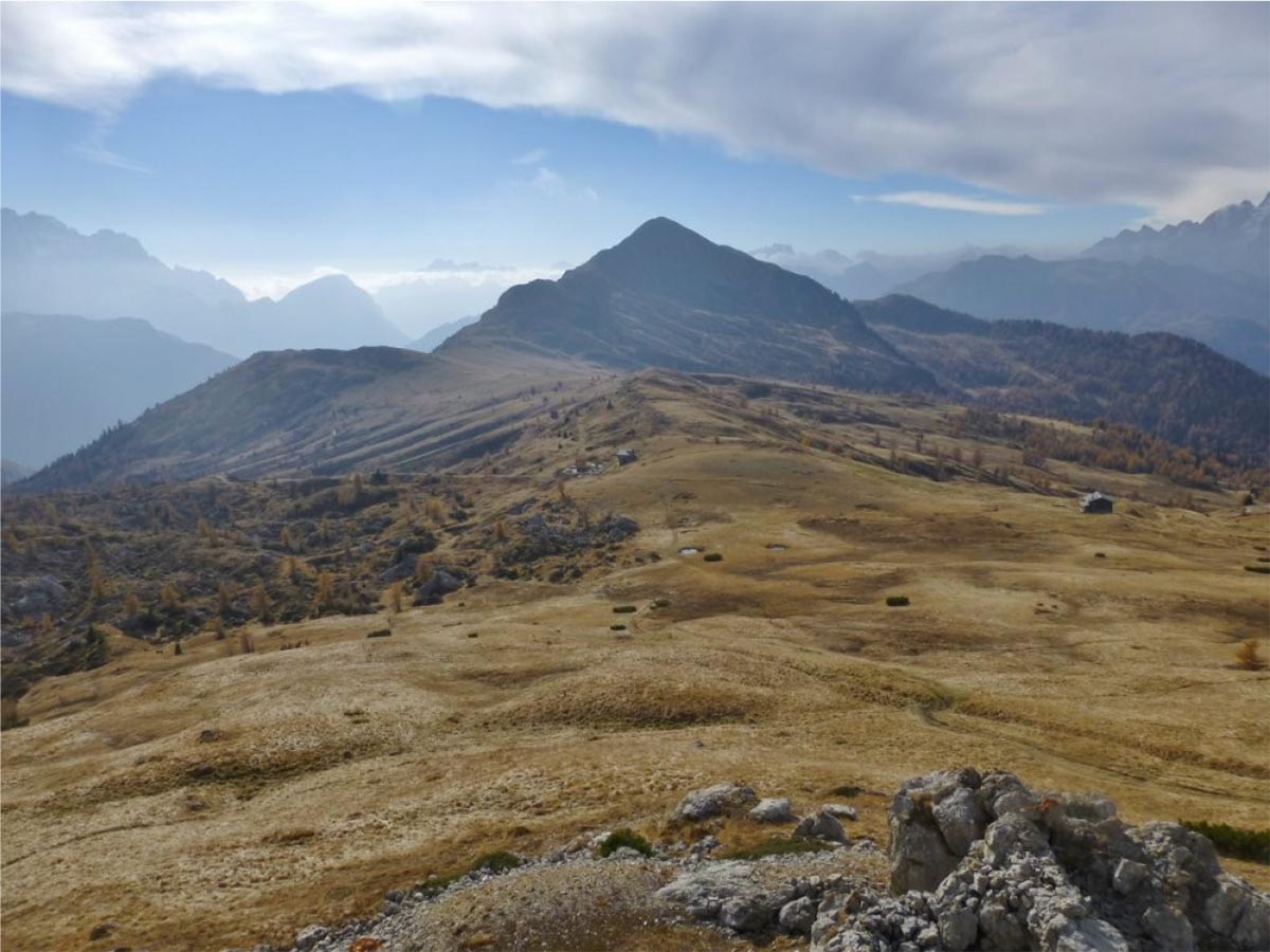 Traversata Andraz-M.Pore-Passo Giau