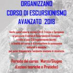 Corso di escursionismo avanzato E2 2018